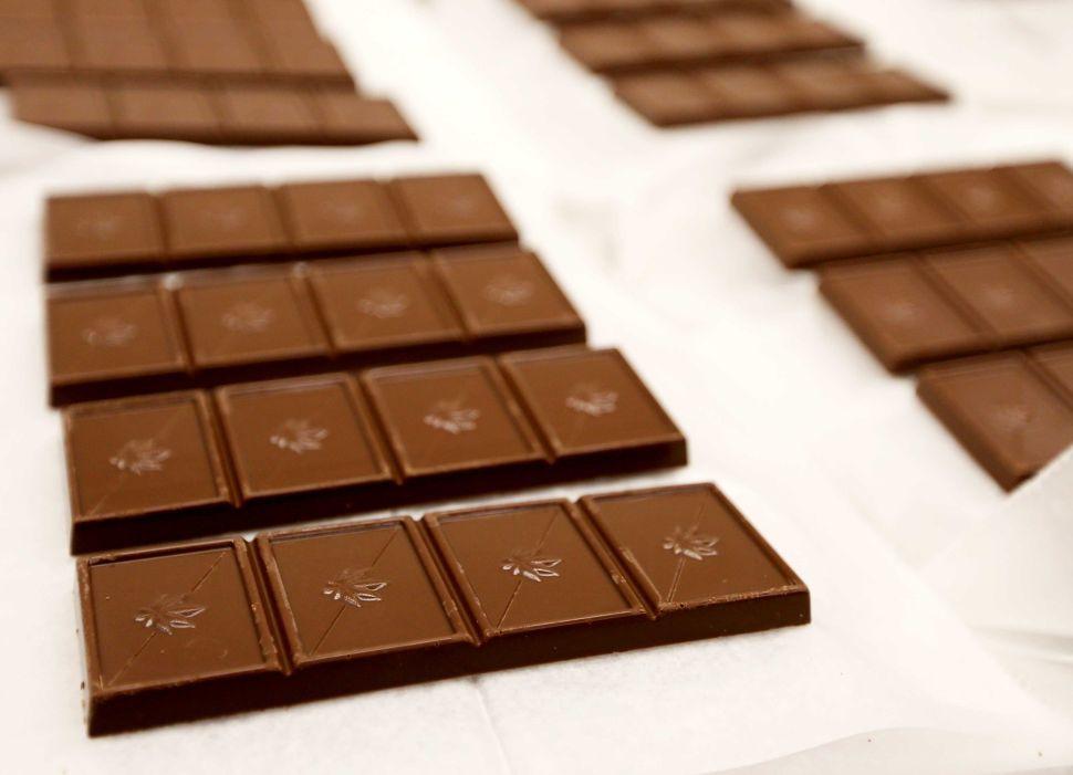 Cannabis infused chocolate bars
