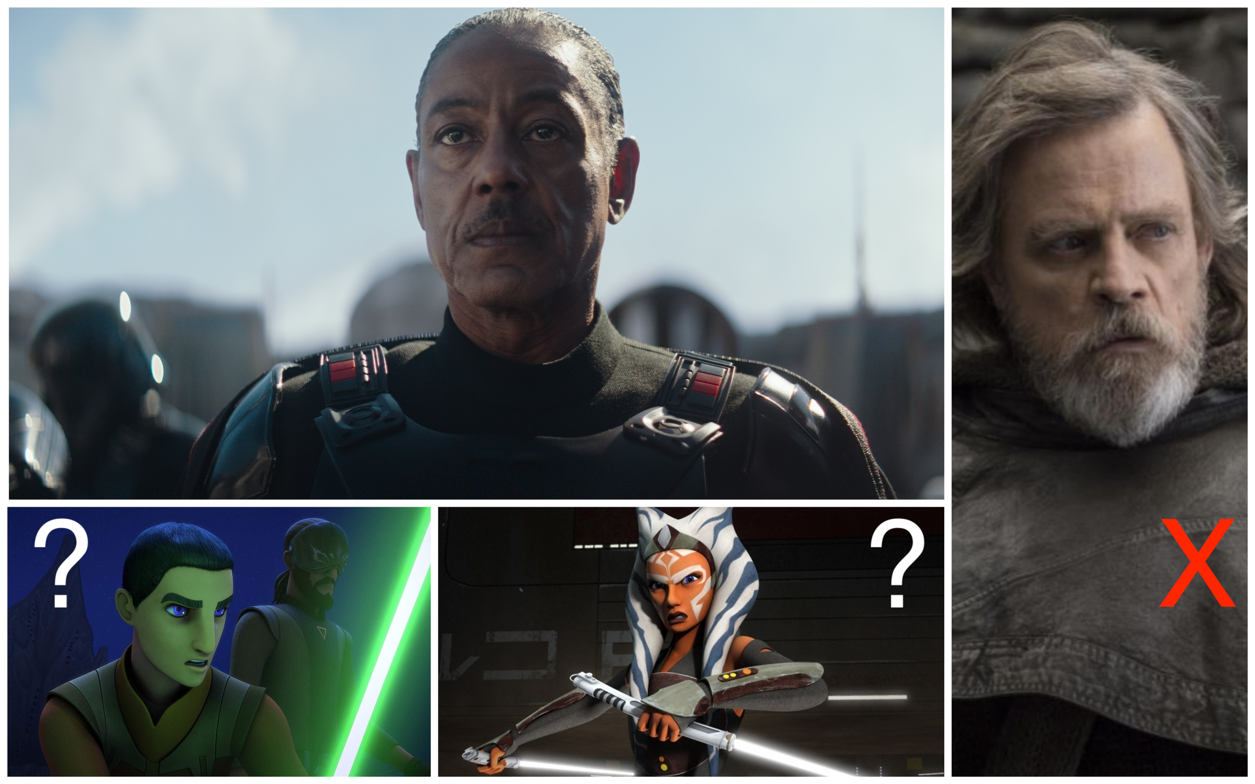 The Mandalorian Season 2 All The Jedi That Could Fight Moff Gideon Observer