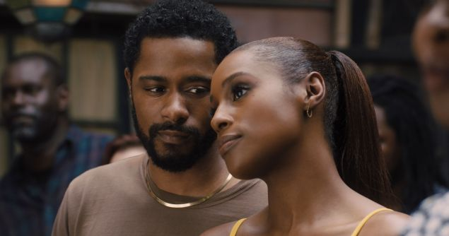 Lakeith Stanfield and Issa Rae in The Photograph