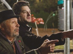 Ben Schwartz and Billy Crystal in Standing Up, Falling Down