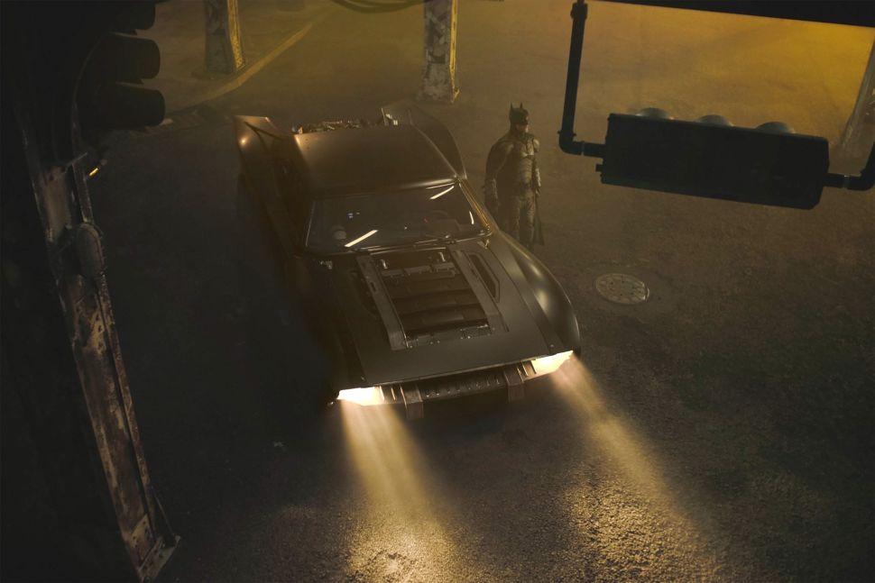 The Sleek New Batmobile From 'The Batman' Rolls Onto Matt Reeves's Twitter