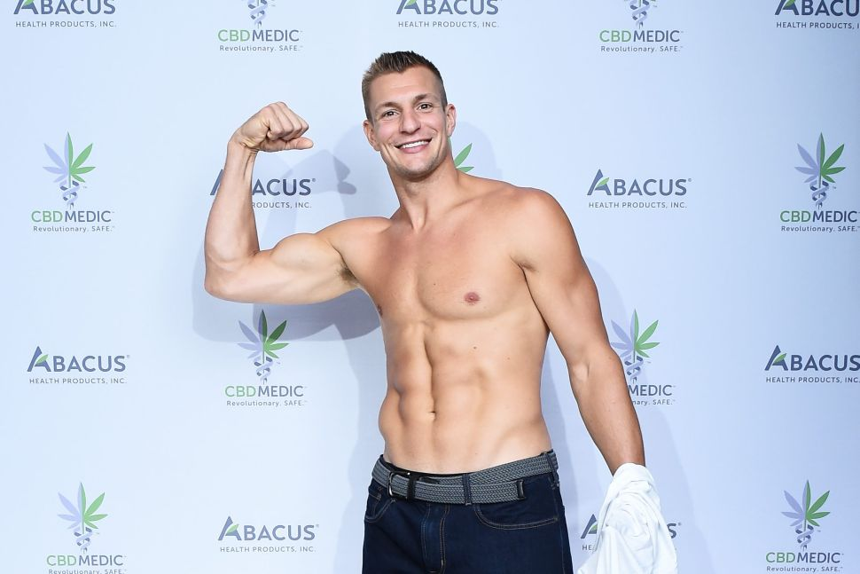 Rob Gronkowski-Endorsed CBD Company Abacus to be Acquired by Charlotte's Web