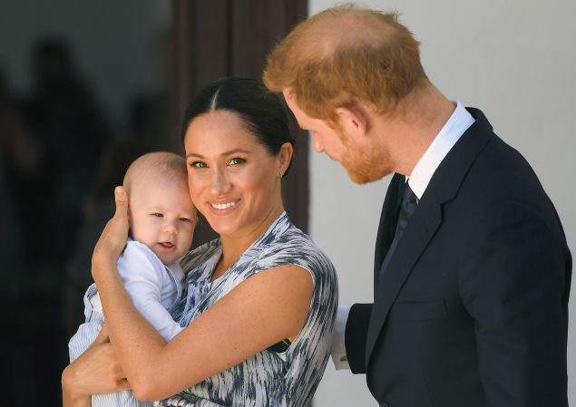 prince harry and meghan leaving archie in canada