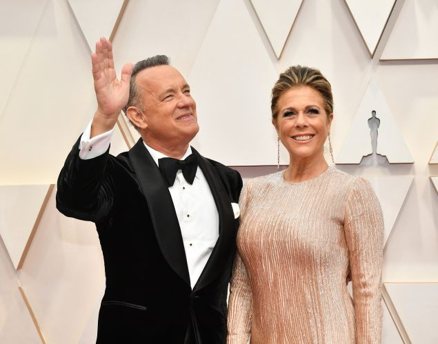 Tom Hanks Rita Wilson Coronavirus Update