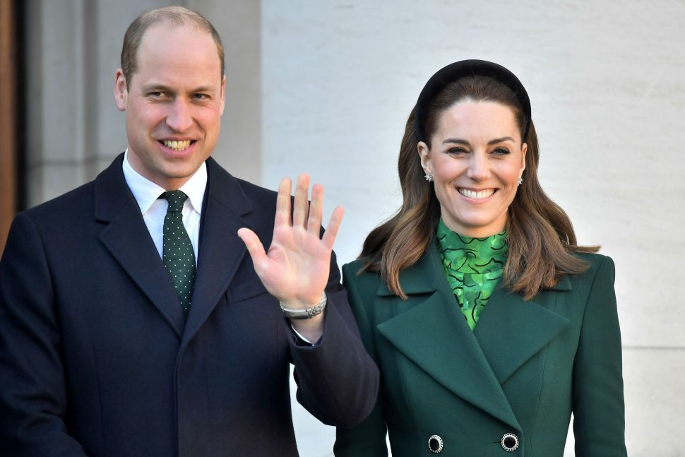 Prince William and Kate Arrived in Dublin to Kick Off Their Busy Royal Tour