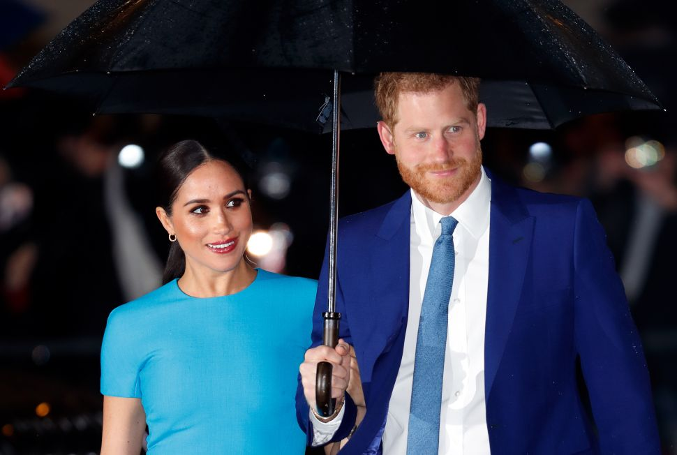 Prince Harry and Meghan Went to the Royal Family's Favorite London Hotel