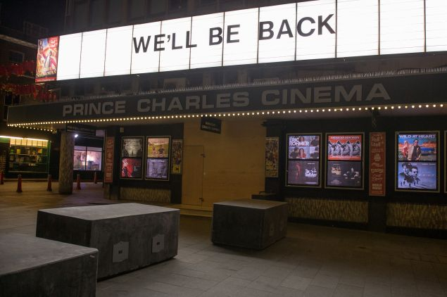 Prince Charles Cinema in Leicester Square
