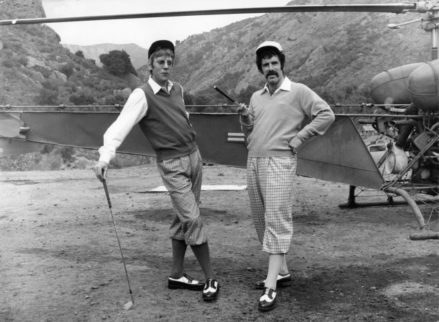 Donald Sutherland And Elliot Gould In MASH