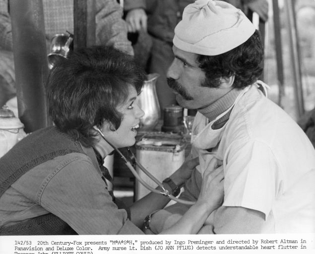 Jo Ann Pflug And Elliot Gould In MASH
