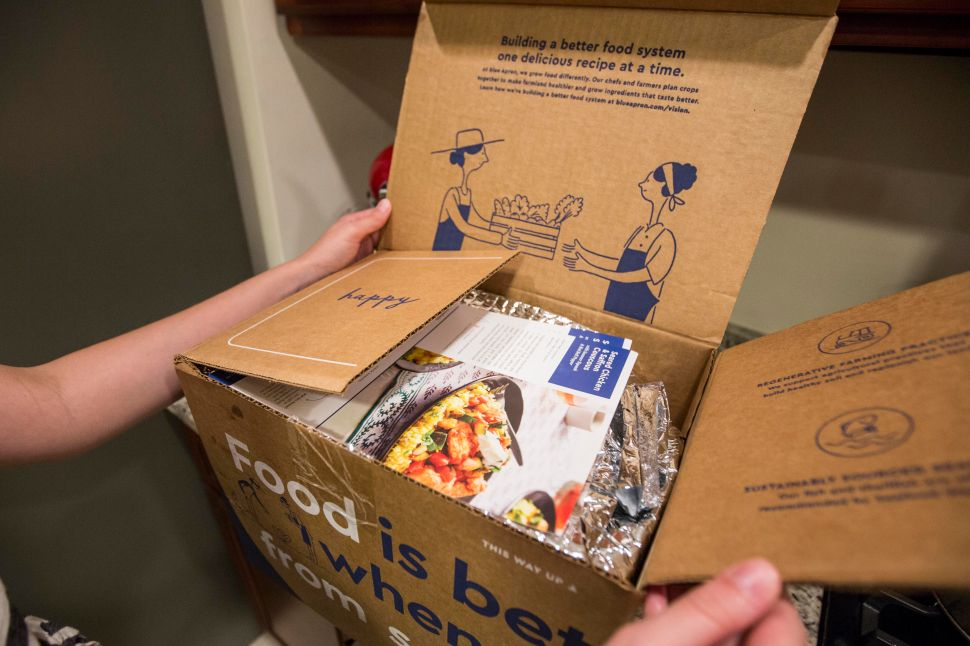 Experts On Coronavirus Investing: Order Blue Apron Meal Kits, Avoid Its Stock