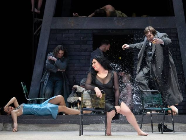 Anita Rachvelishvili as Carmen at the Berlin State Opera.