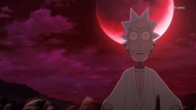 Rick and Morty Samurai and Shogun