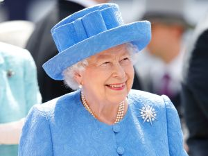 queen elizabeth is having a zoom birthday party