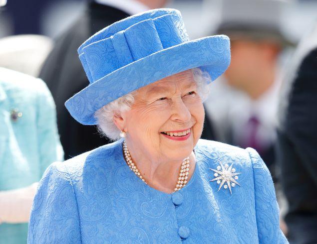 queen elizabeth is having a zoom birthday party