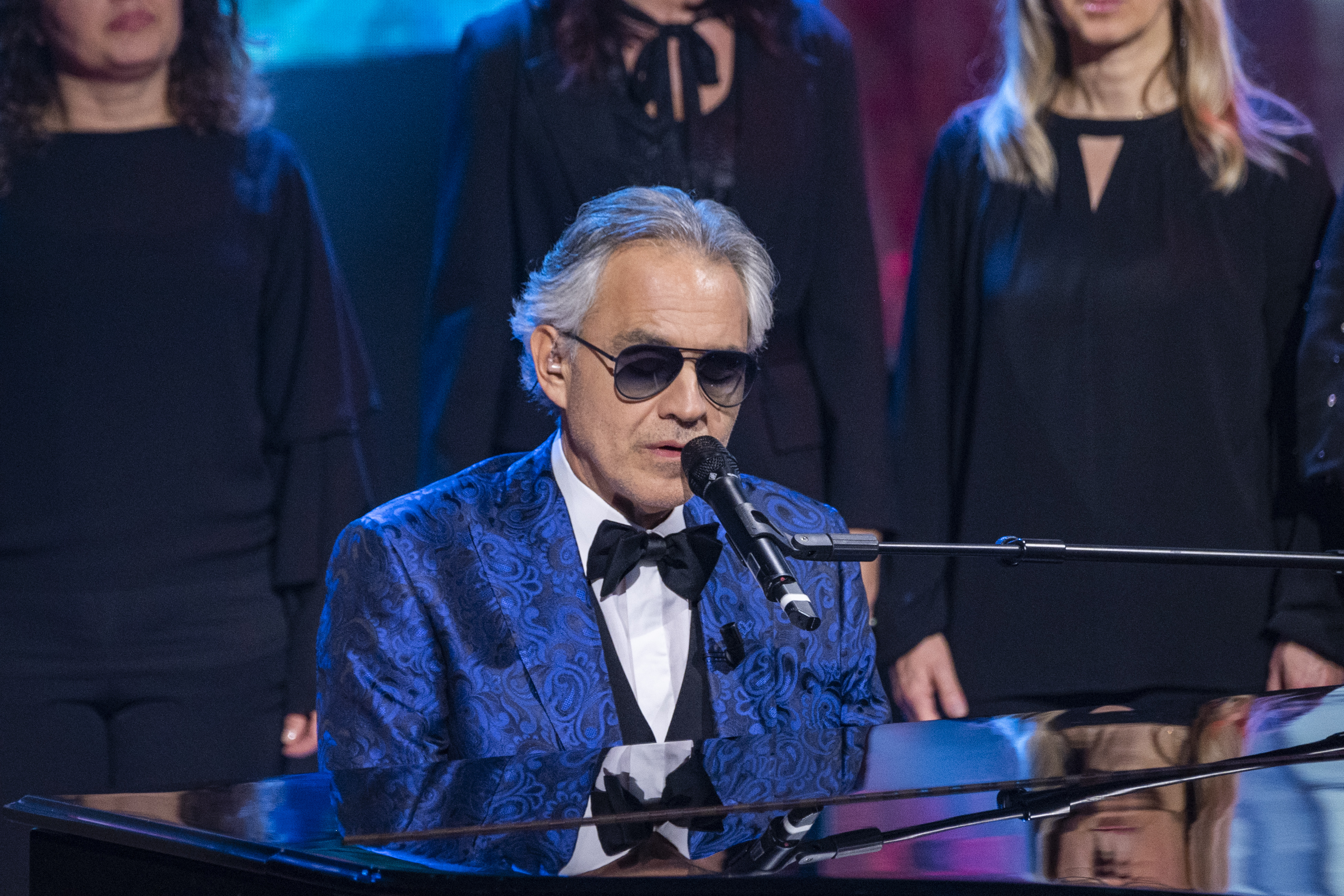 Andrea Bocelli Will Sing in an Empty Cathedral on Easter to Uplift People of All Faiths