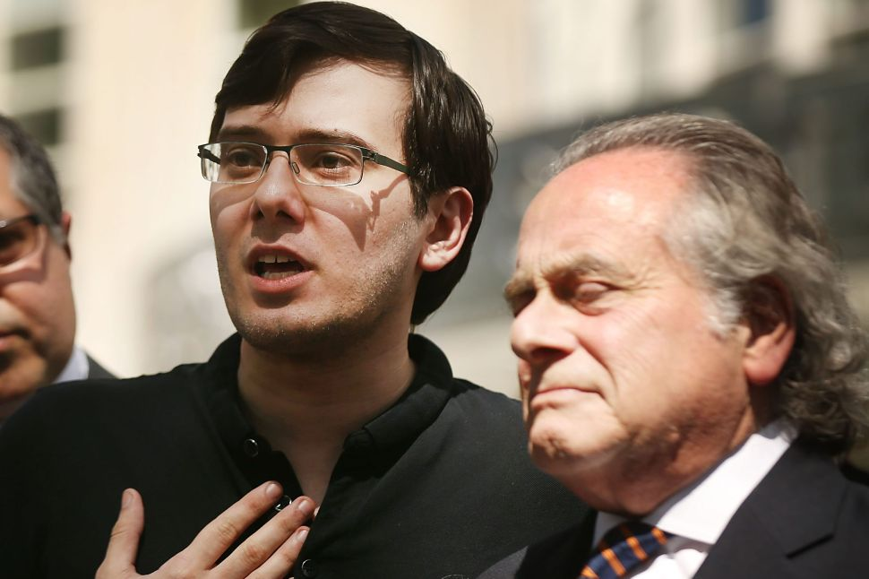 Disgraced 'Pharma Bro' Wants a Prison Furlough to Develop COVID-19 Drug