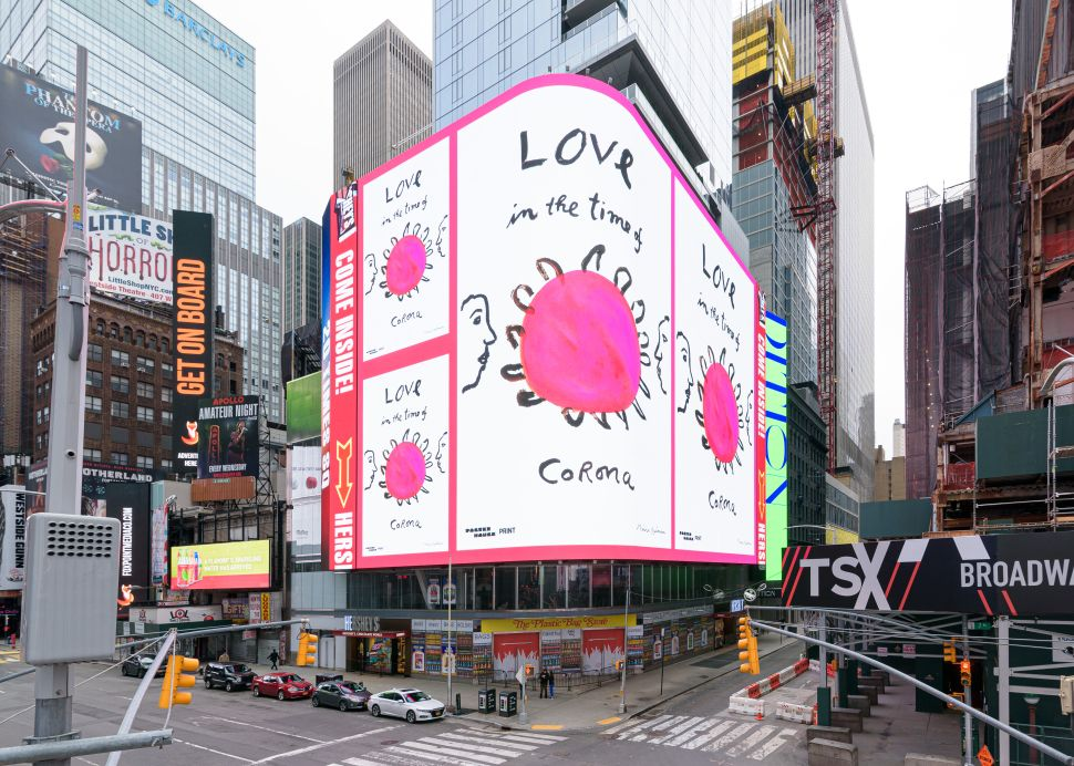 Artists Collaborated on a Coronavirus PSA Campaign That You'll See All Over NYC