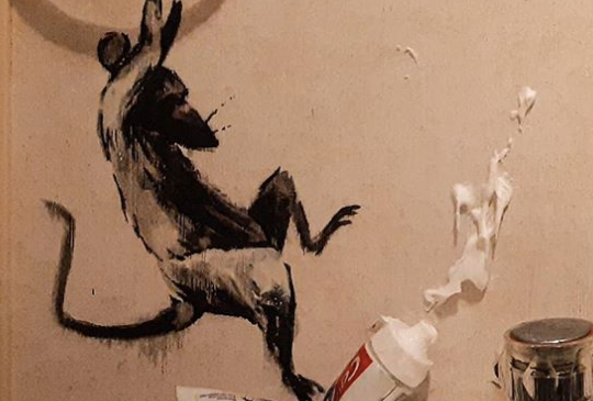 Banksy WFH