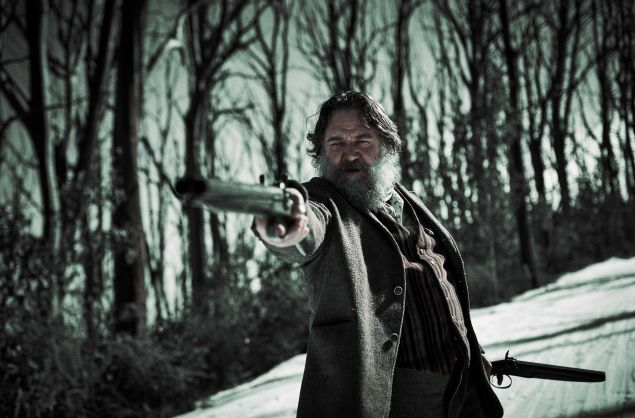 Russell Crowe as Harry Power in True History of the Kelly Gang