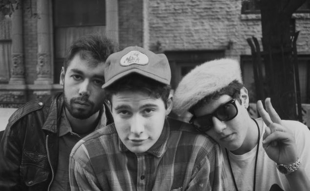 The Beastie Boys in their youth, as seen in Beastie Boys Story