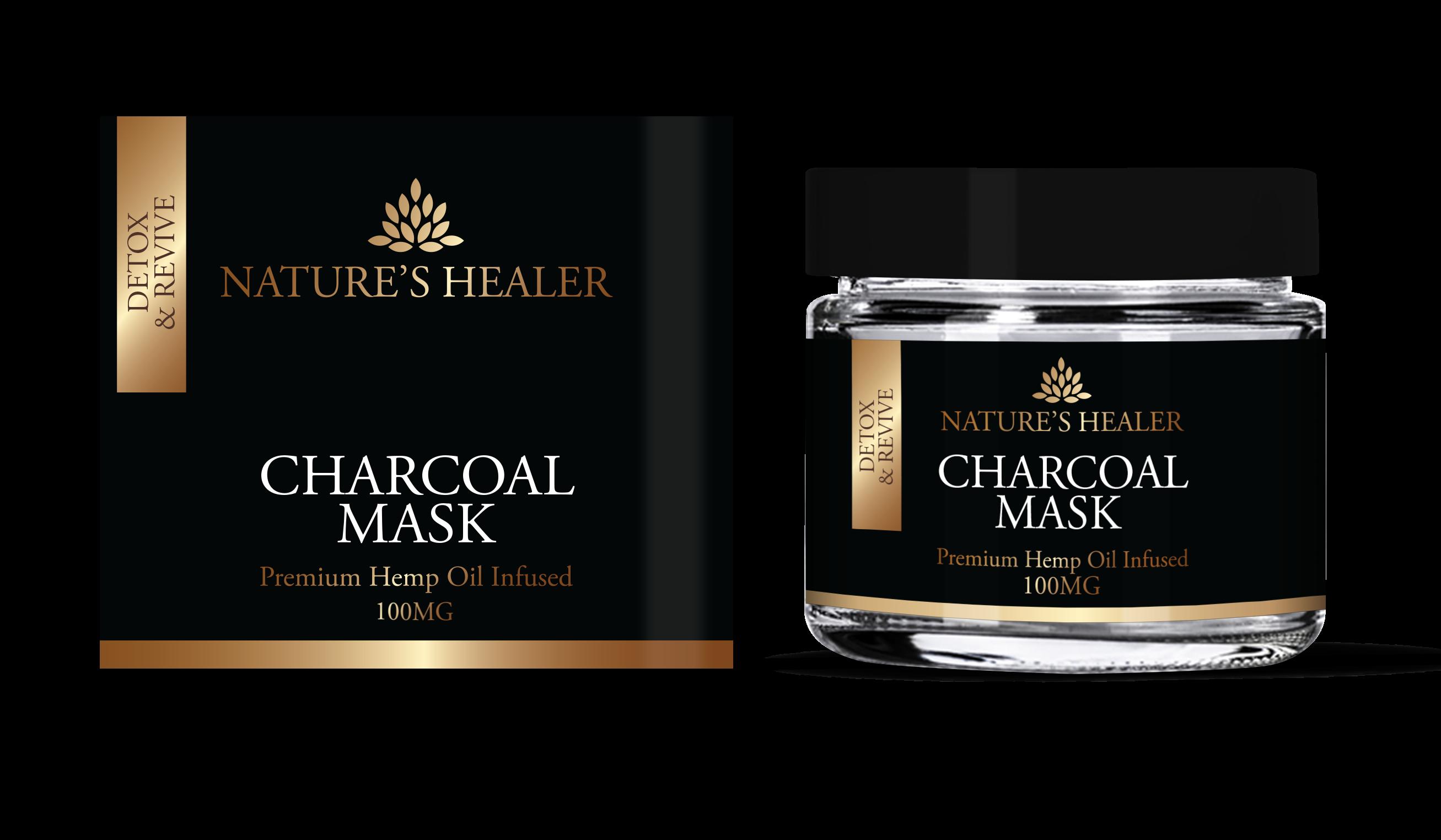 Nature's Healer CBD Charcoal Facemask