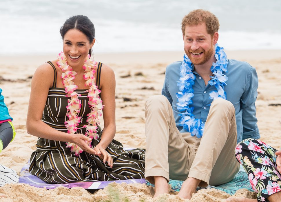 Prince Harry and Meghan Surprised Each Other With the Sweetest Anniversary Gifts
