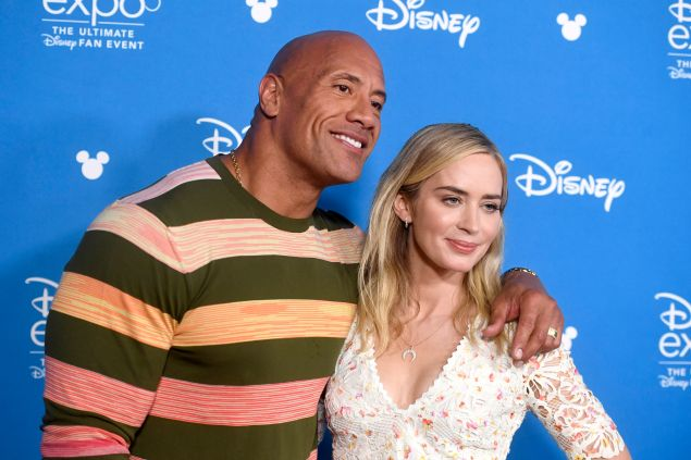 Dwayne Johnson Movies Ball and Chain Emily Blunt