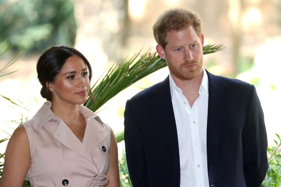 Prince Harry and Meghan Have a Serious Drone Issue at Their Beverly Hills Home