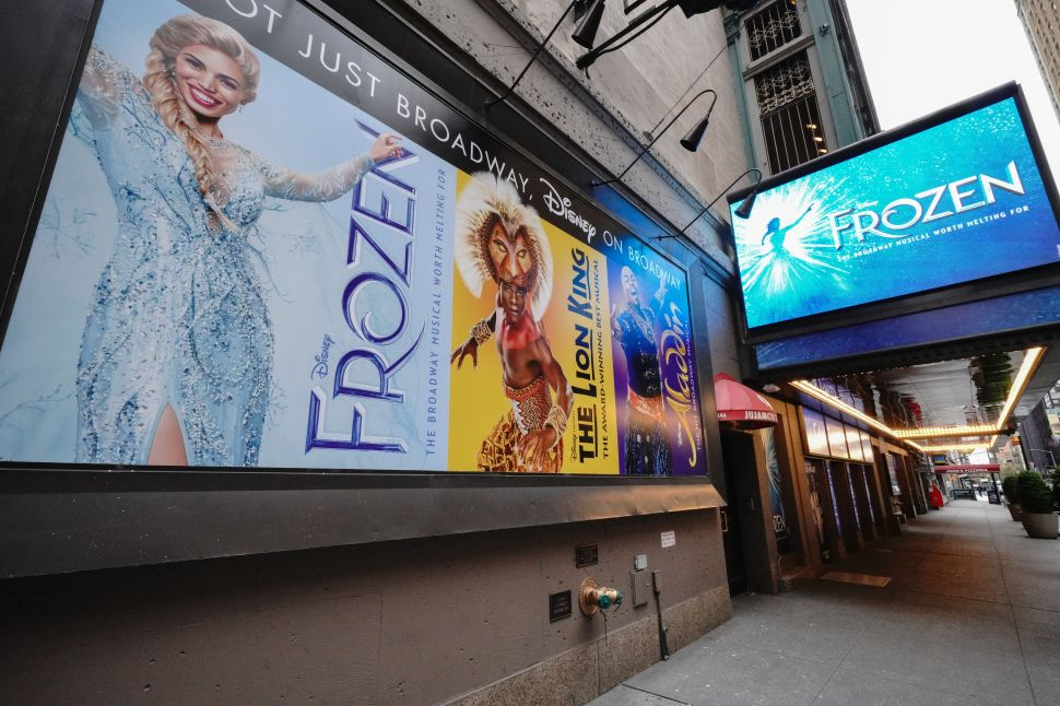 'Frozen' Isn't the Only Broadway Show Permanently Canceled Due to COVID-19
