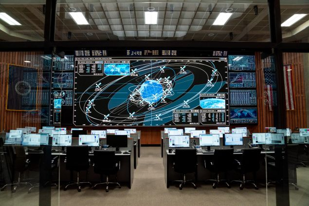 space force launch room