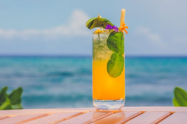 Kona Lime Cocktail