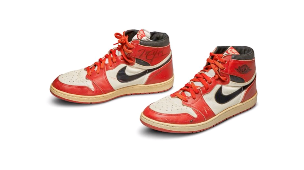 Signed Nike Air Jordan 1s Will Be Auctioned by Sotheby's to Celebrate 'The Last Dance'