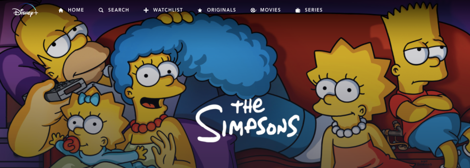 Disney+ Finally Lets You Watch 'Simpsons' the Right Way