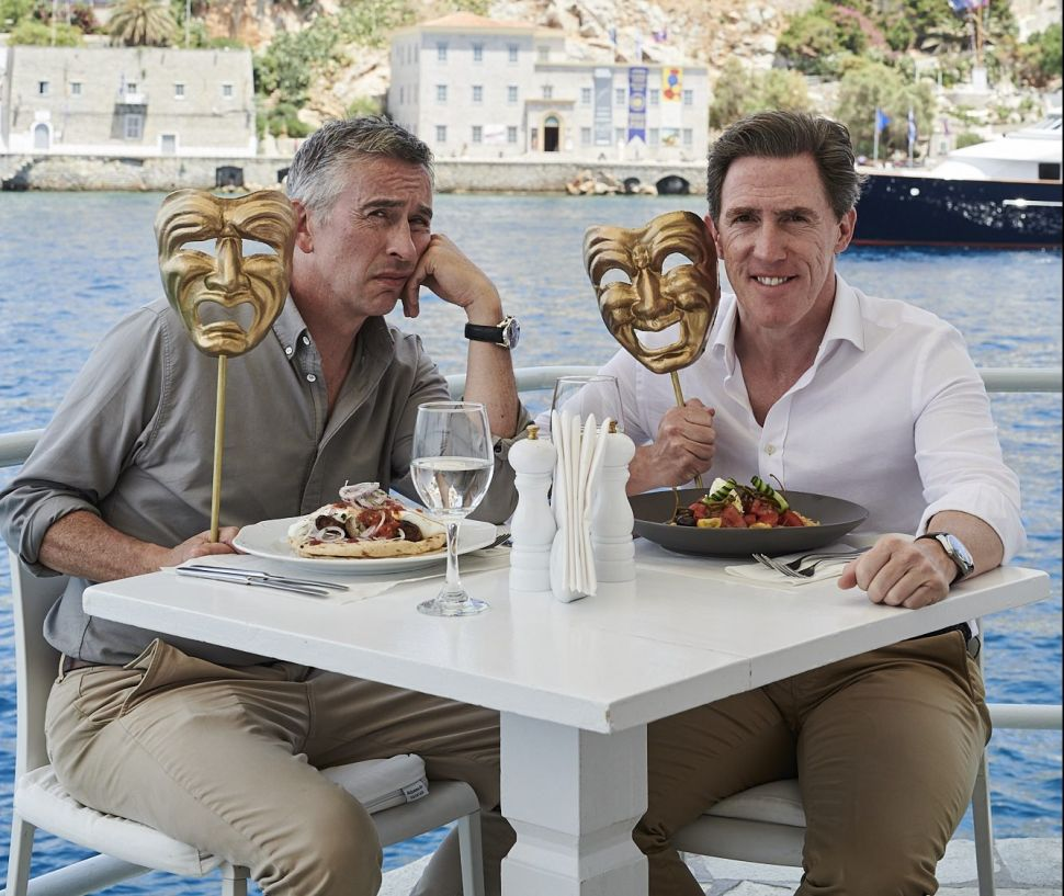 Rob Brydon Looks Back on 'The Trip' Series and Trading Insults With Steve Coogan