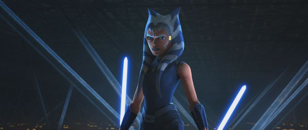 Ahsoka Tano in Star Was: The Clone Wars