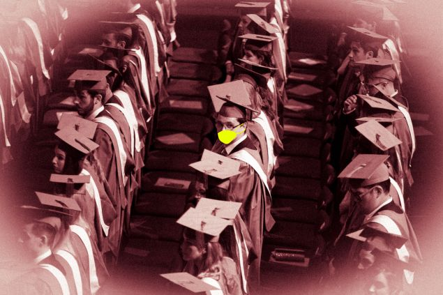 graduating in the coronavirus pandemic