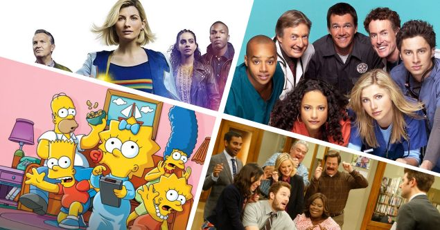scrubs doctor who simpsons parks and rec