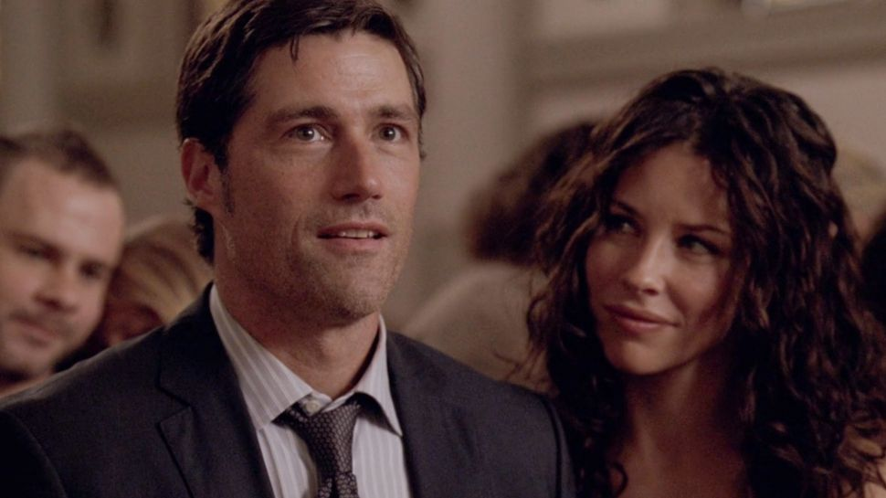 Jack Shephard Matthew Fox Kate Austen Evangeline Lilly in The End lost series finale