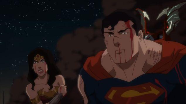 superman wonder woman lose justice league dark apokolips war