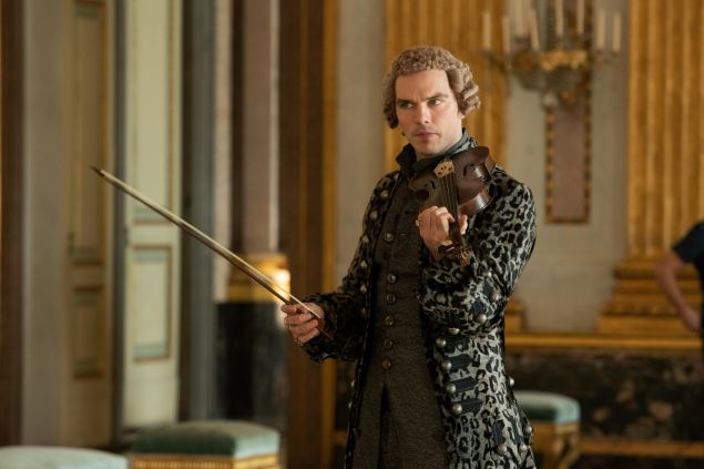 Nicholas Hoult plays Peter Peter III of Russia in The Great
