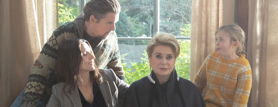 Juliette Binoche, Ethan Hawke, Catherine Deneuve and Clementine Grenier star in The Truth, directed by Hirokazu Kore-eda