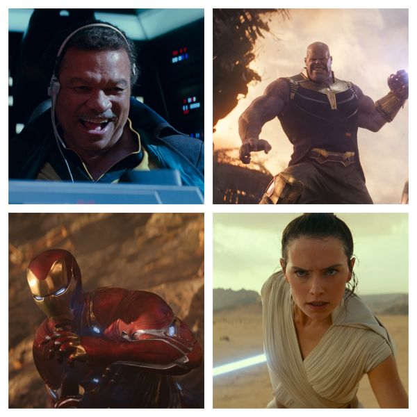 Disney Star Wars Marvel