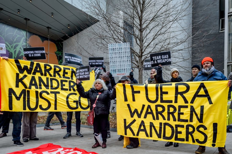 Former Whitney Board Member Warren Kanders Says His Business Will No Longer Sell Tear Gas