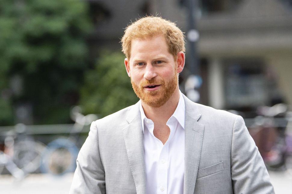Prince Harry Is Feeling Homesick in Los Angeles