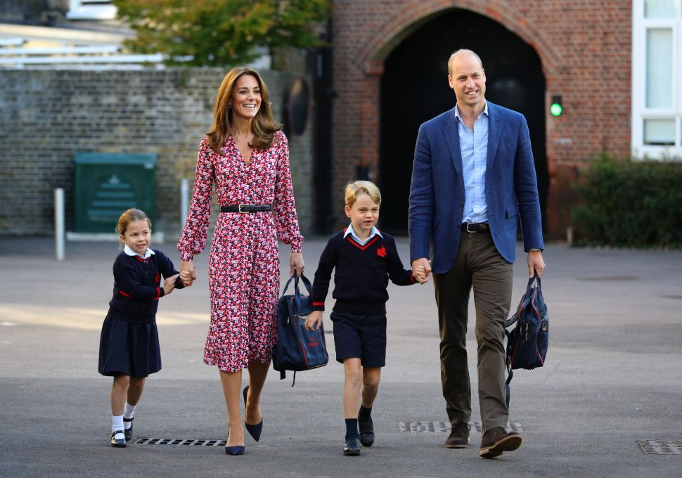 Prince William and Kate Have a Big Decision to Make for Prince George