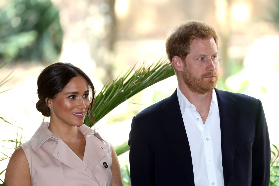 Prince Harry and Meghan Signed With the Same Speaking Agency as the Obamas