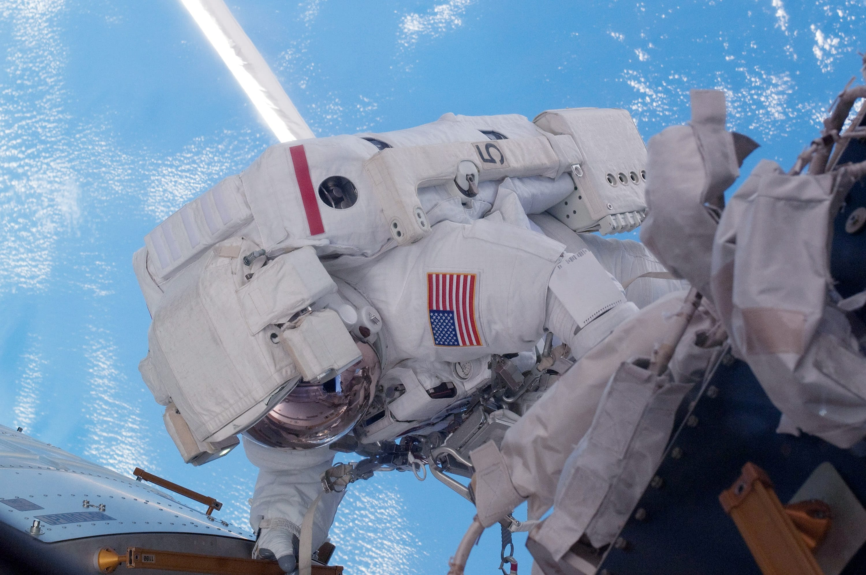 NASA Astronaut Launched By SpaceX Goes Out For a Spacewalk: Video