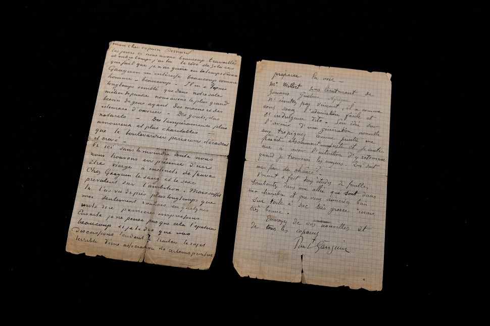 A Letter by Van Gogh Discussing His Trips to Brothels Sold for $237,000