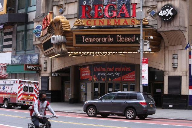 Regal Cinemas Reopening Coronavirus