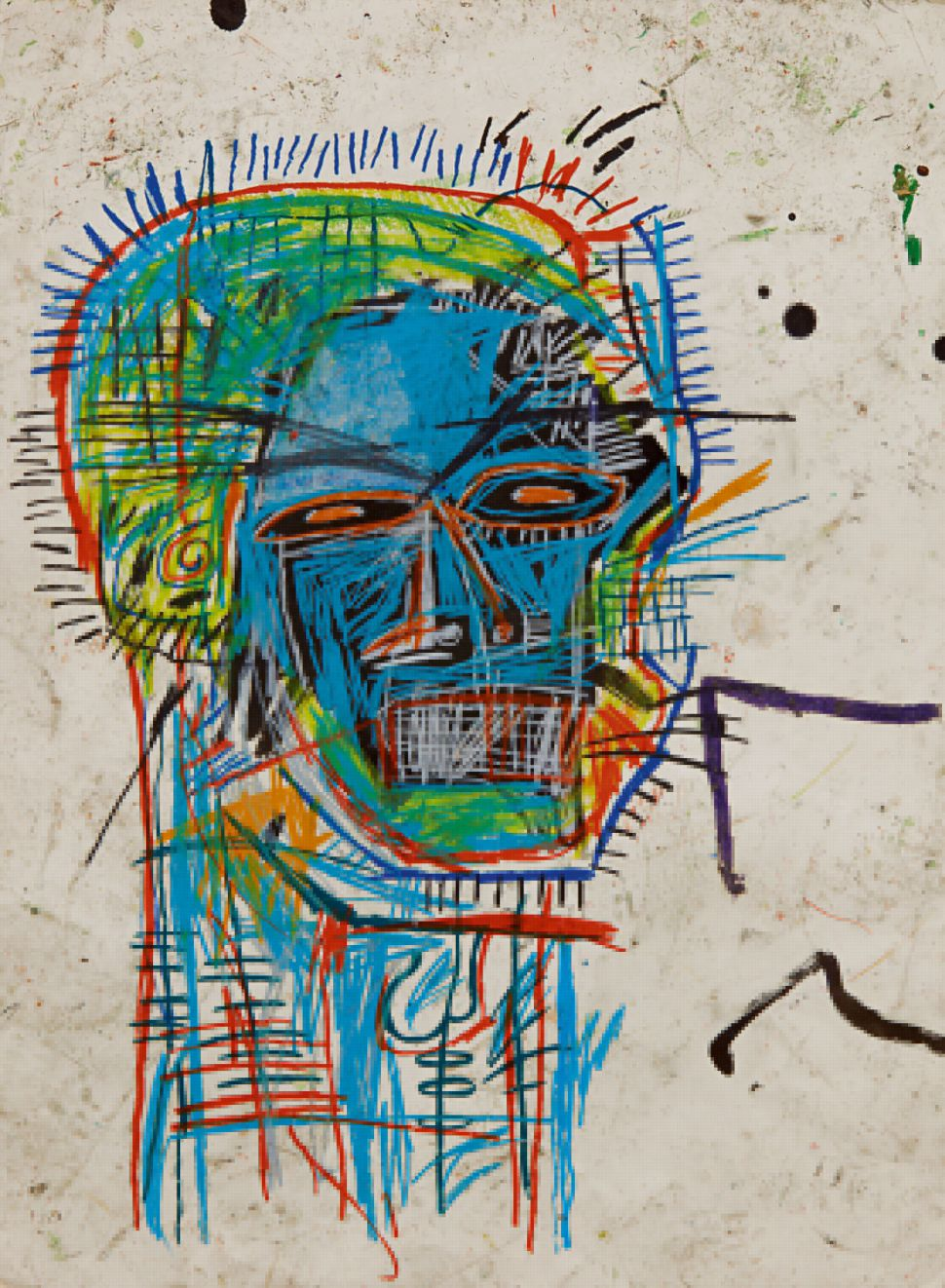 Jean-Michel Basquiat's 'Untitled (Head)' Expected to Sell for $12 Million